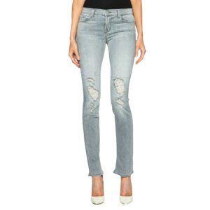 NWT J Brand Mid Rise Rail Straight Leg Jeans in Sweet Grey Wash